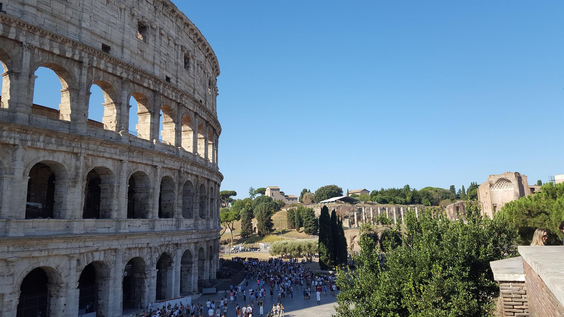 colosseum roma åpningstider