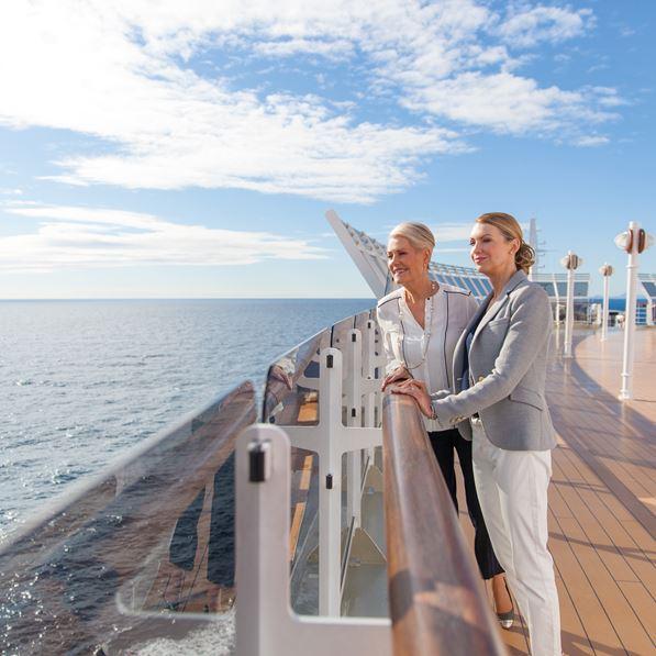 Verdenscruise 2019 Med Queen Victoria Carica